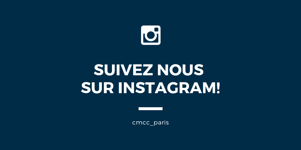 Instagram du CMCC Paris